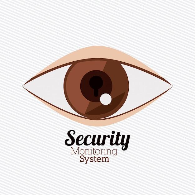 Sicherheitsdesign Premium Vektoren