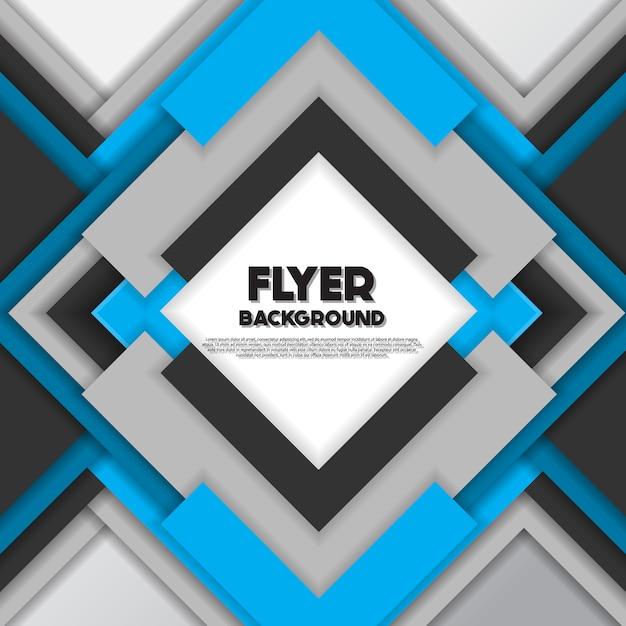 Silber und blauer Hintergrund Design Kostenlose Vektoren