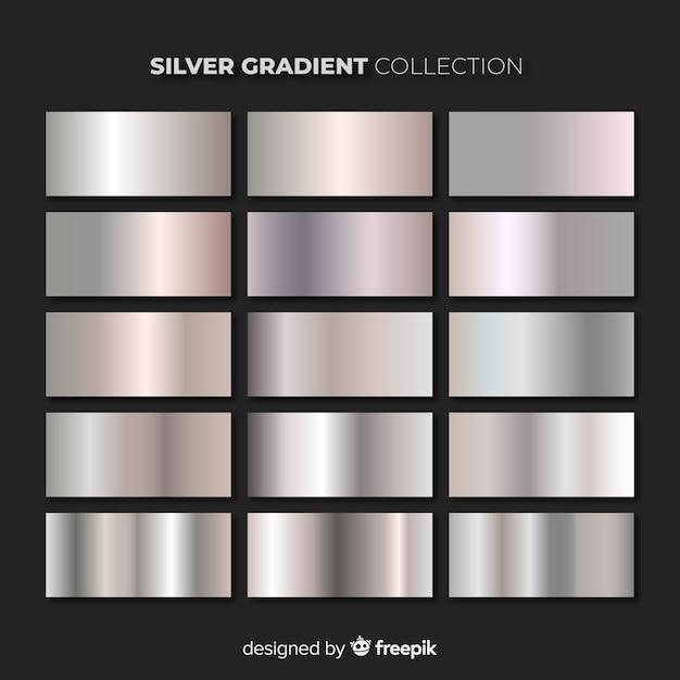 Silberfarbene packung Kostenlosen Vektoren