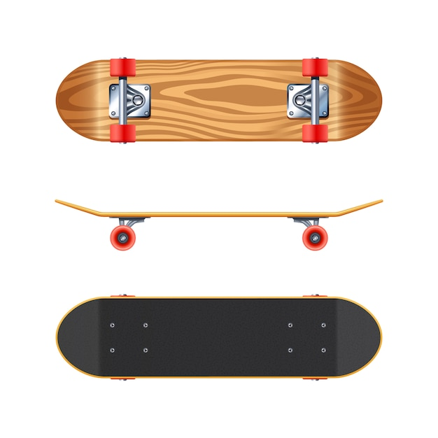Skateboard Kostenlosen Vektoren