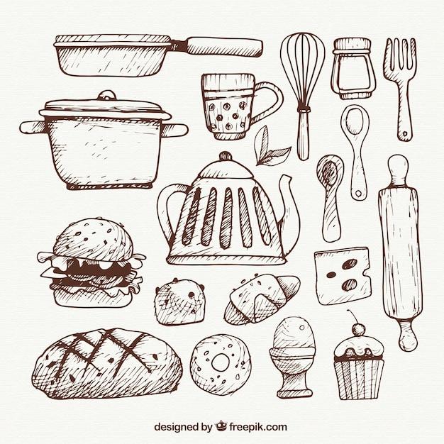 Moderne Küchenutensilien: Sketchy Küchenutensilien