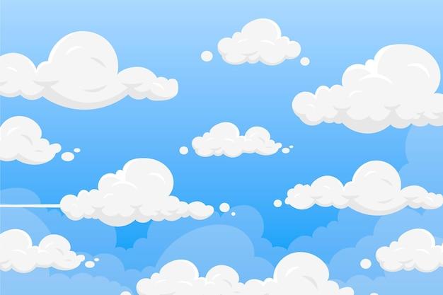 Sky - hintergrund für videokonferenzen Kostenlosen Vektoren
