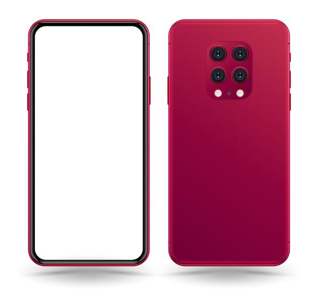 Smartphone-modell. Premium Vektoren