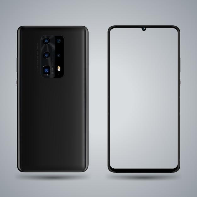 Smartphone-modell Premium Vektoren