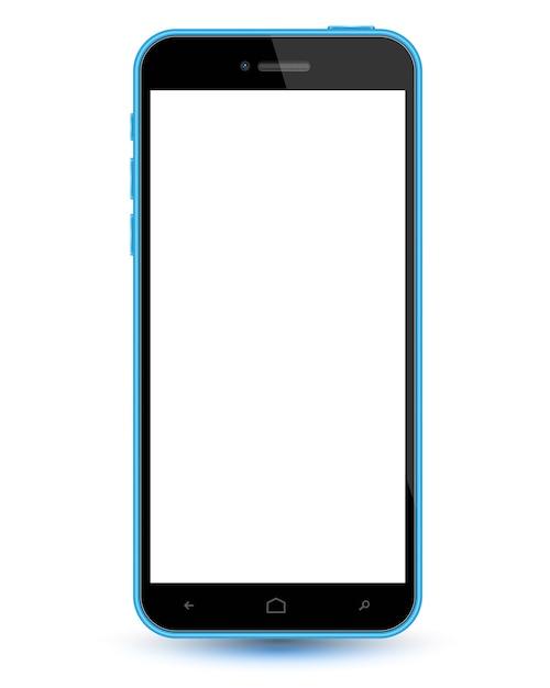 Smartphone realistische vektor-modell Premium Vektoren