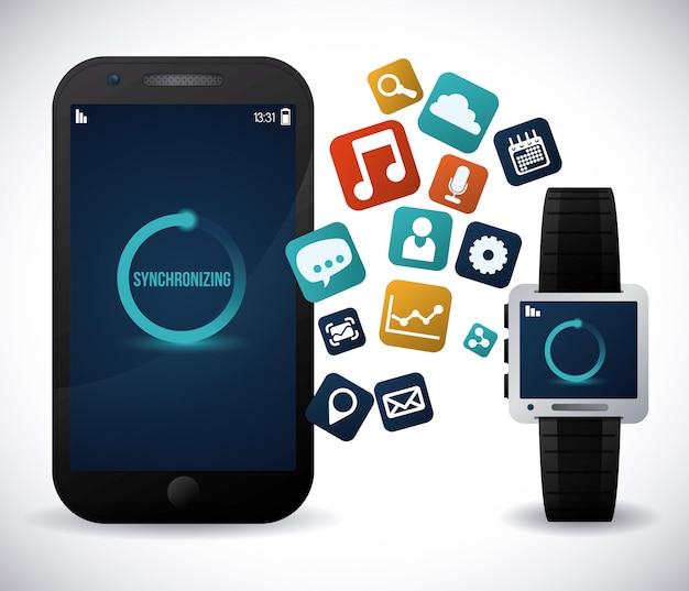 Smartwatch Premium Vektoren