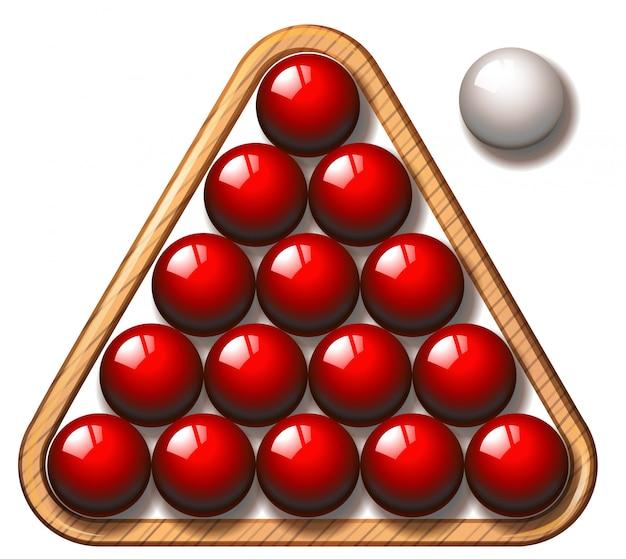 Snooker Kostenlosen Vektoren