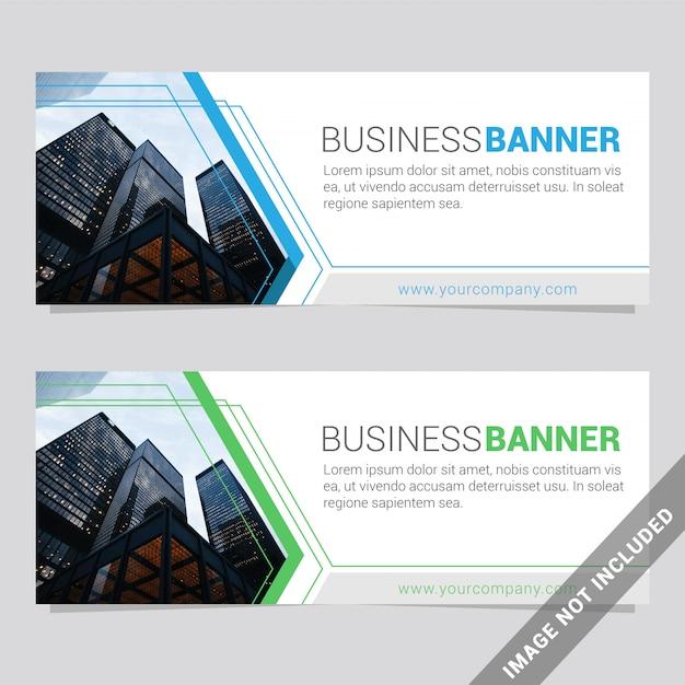 Social media banner vorlage Premium Vektoren