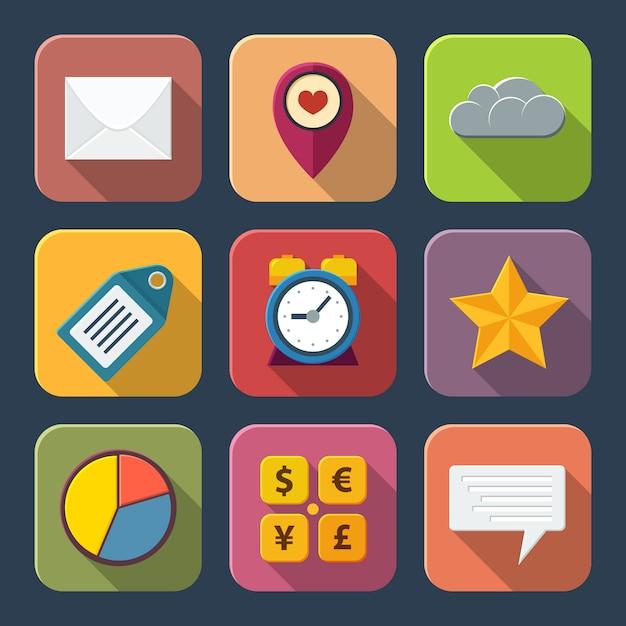 Social-media-symbole Premium Vektoren