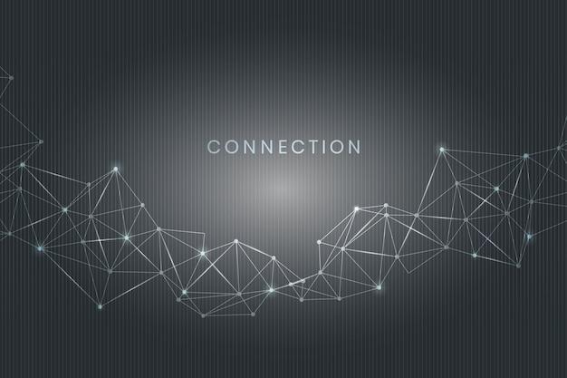 Social-media-verbindung Kostenlosen Vektoren