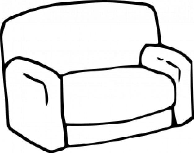Sofa download der kostenlosen vektor for Sofa zeichnung