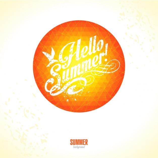 Sommer-hintergrund Kostenlosen Vektoren