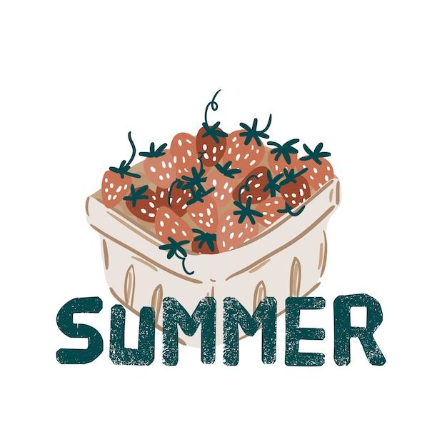 Sommer picknick früchte, beeren, kuchen, hotdog, sandwich, grill, kaffee, eis, kuchen. draufsicht. icon set flaches design von picknickartikeln. für banner, poster, werbung, präsentationsvorlagen Premium Vektoren