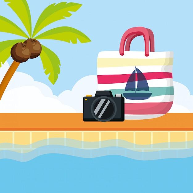 Sommerferien Premium Vektoren