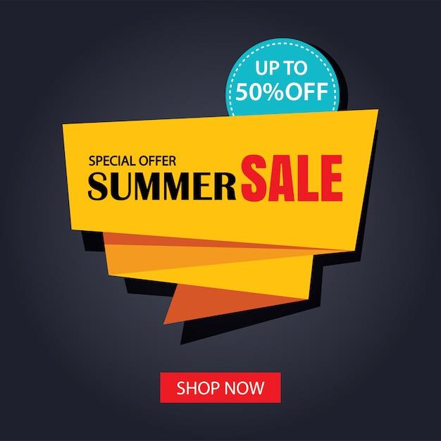 Sommerverkauf band und aufkleber banner vintage-stil. Premium Vektoren
