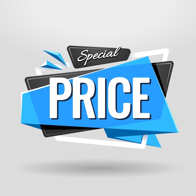 Sonderpreis poster Kostenlosen Vektoren
