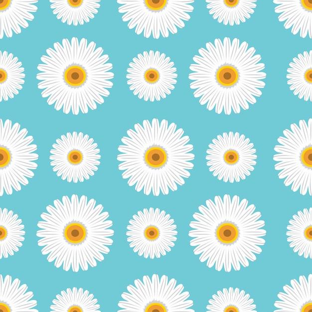Sonnenblumen vektor nahtlose muster Premium Vektoren