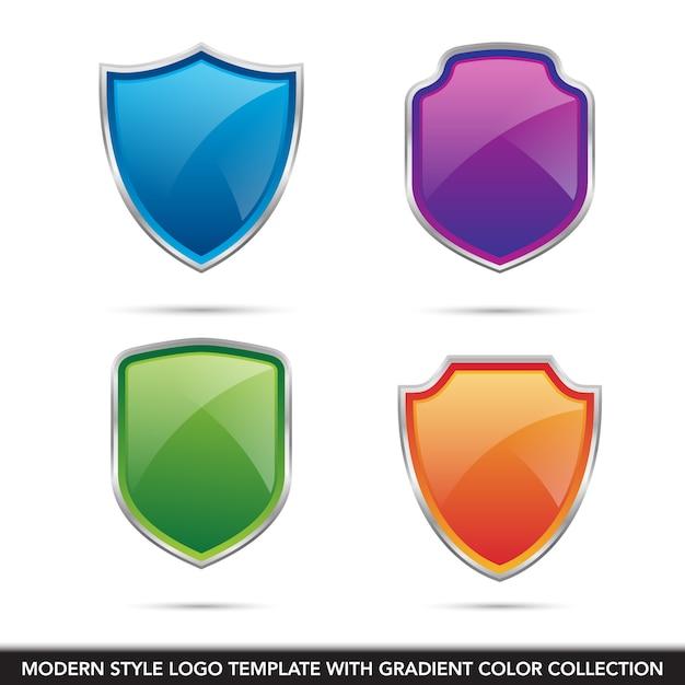 Speichern sie schildschutztechnologie sichere logo symbol vektor vorlage Premium Vektoren