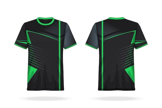 Spezifikation soccer t shirt rundhals jersey vorlage Premium Vektoren