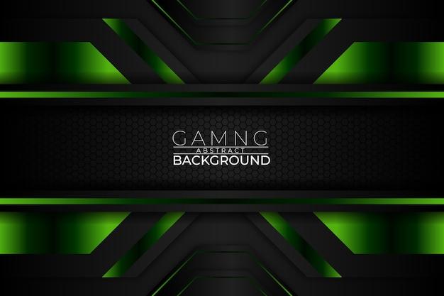 Spiel abstrakter hintergrund dunkelgrüner stil Premium Vektoren