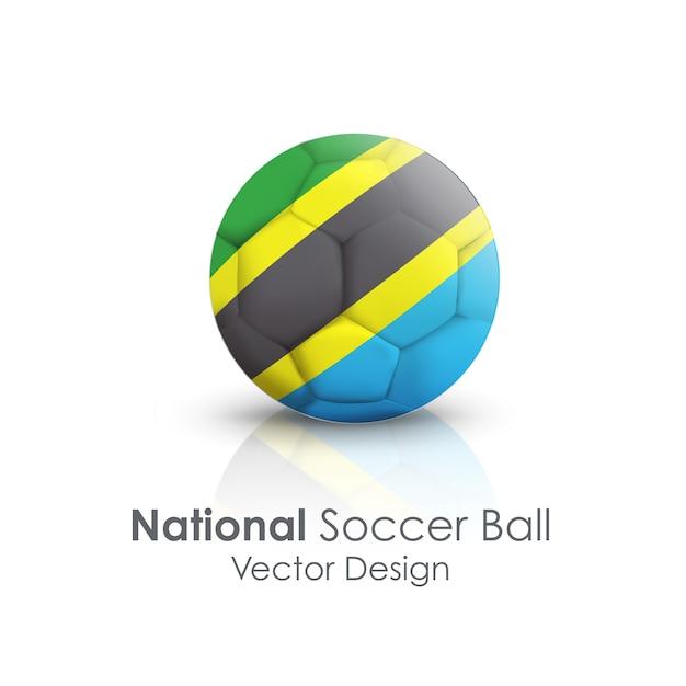 Spiel runde großansicht objekt soccerball Kostenlosen Vektoren