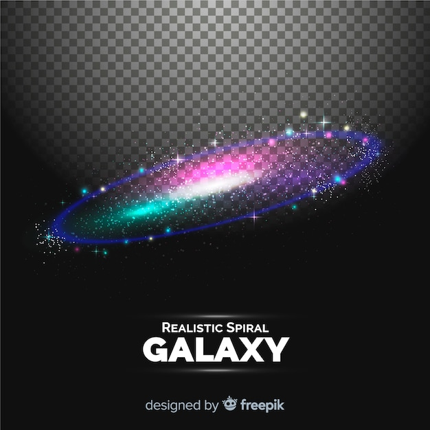 Spiralgalaxie hintergrund Kostenlosen Vektoren