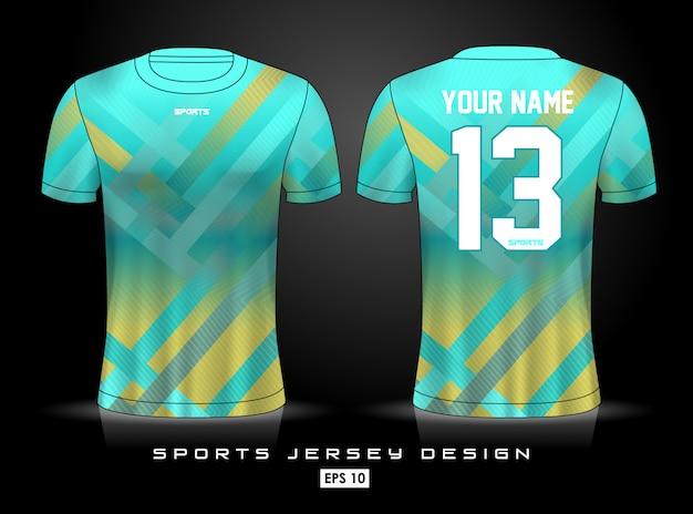 Sport-jersey-vorlage Premium Vektoren
