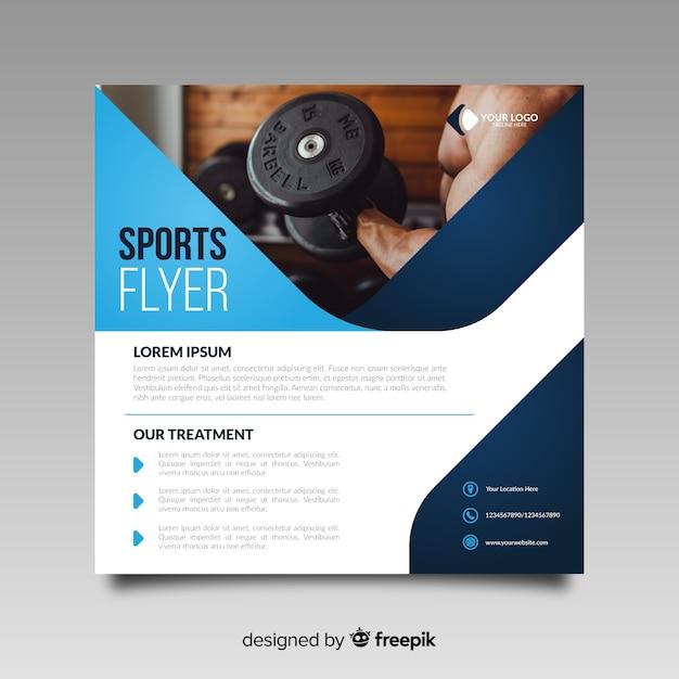 Sportflieger Kostenlosen Vektoren