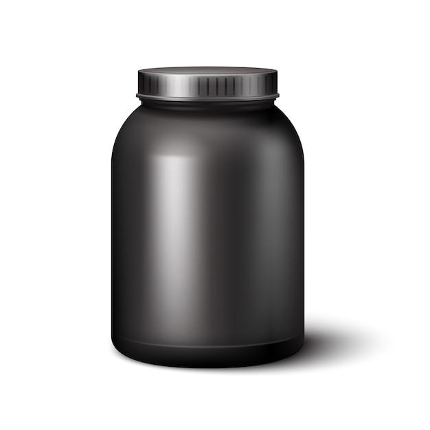 Sportnahrung container Kostenlosen Vektoren