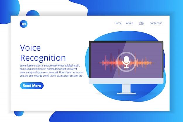 Sprachnachrichten, isometrisches spracherkennungskonzept. kann für web-banner, landingpage-vorlage, infografiken verwendet werden. Premium Vektoren
