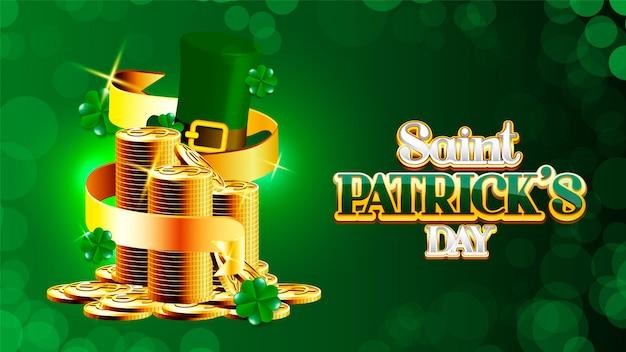 St. patrick's day-poster. Premium Vektoren