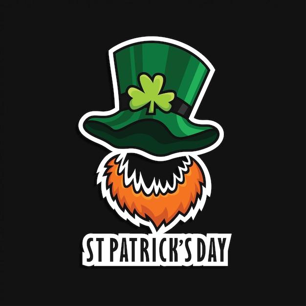 St. patricks day-symbol Premium Vektoren