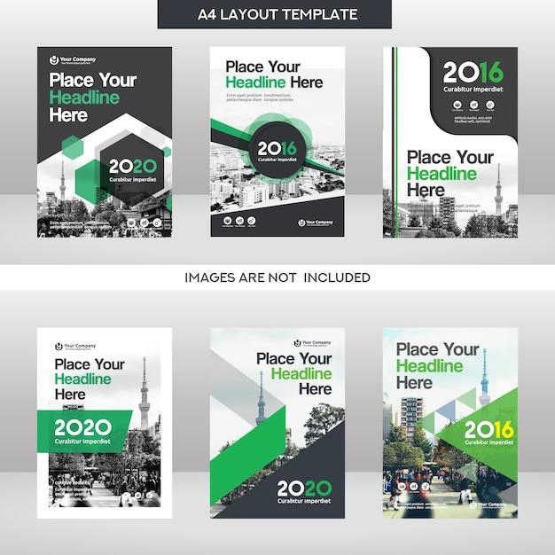 Stadt hintergrund business buch cover design vorlage set for Buch design