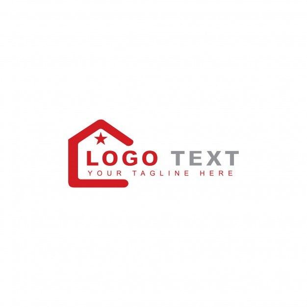 Star Homes Logo Kostenlose Vektoren