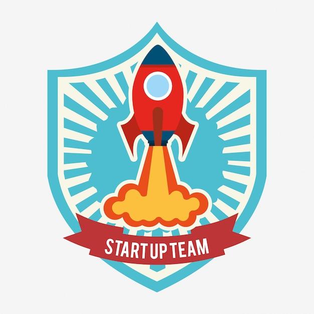Start-up-konzept Kostenlosen Vektoren