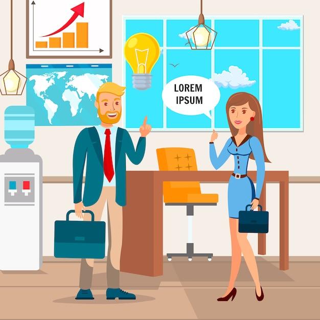 Startup idee Premium Vektoren