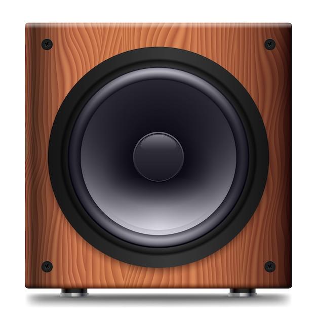 Stereo lautsprecher Premium Vektoren
