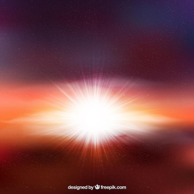 Sterne-burst-hintergrund Kostenlosen Vektoren