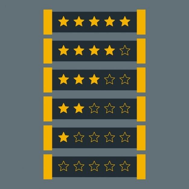 Sterne im dunklen thema Kostenlosen Vektoren