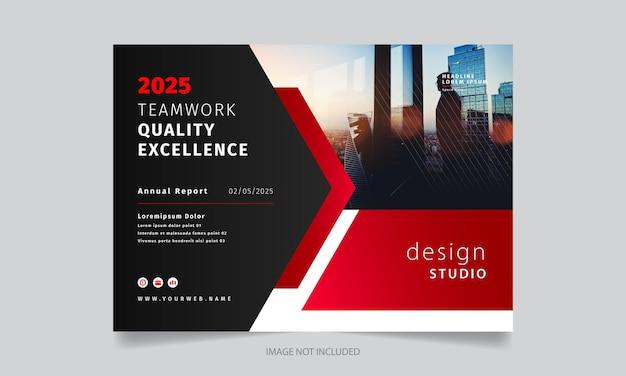 Stilvolle moderne kreative broschüre design-vorlage Premium Vektoren