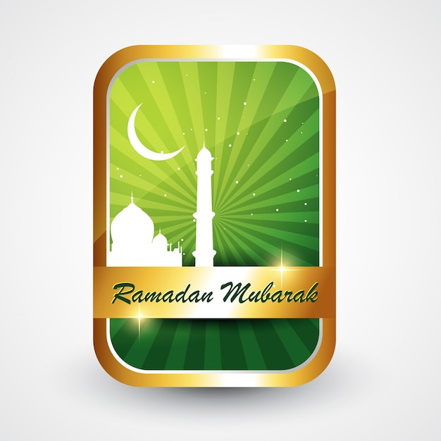 Stilvolle ramadan kareem vektor-illustration Kostenlosen Vektoren