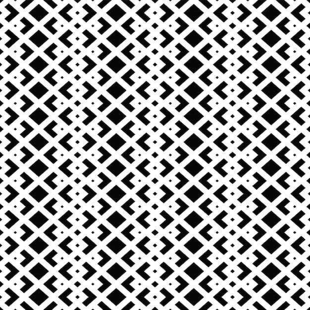 Stilvolles schwarzweiss-musterdesign Premium Vektoren