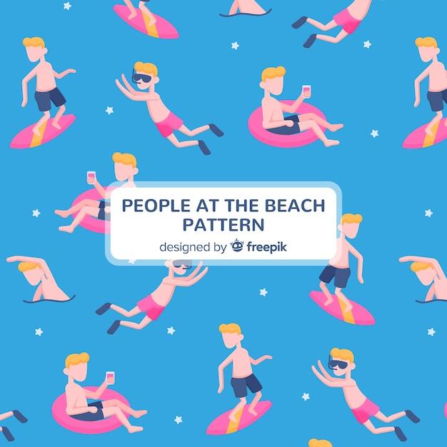 Strandmuster Kostenlosen Vektoren