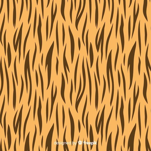 Streifen-tiger-muster Kostenlosen Vektoren