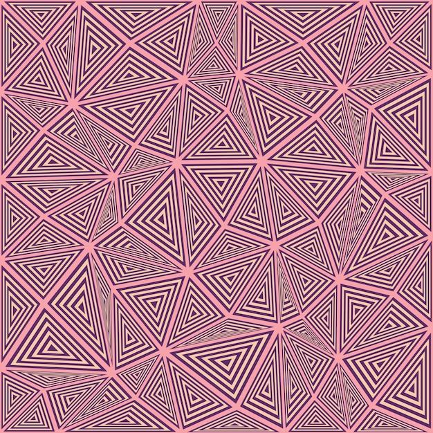 Striped dreieck puzzle mosaik hintergrund Kostenlosen Vektoren