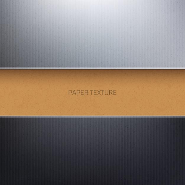 Strukturierter abstrakter hintergrund 3d des vektorpapppapiers Premium Vektoren