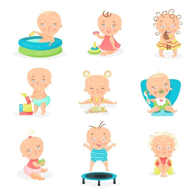 Baby tagesablauf mit Eine feste