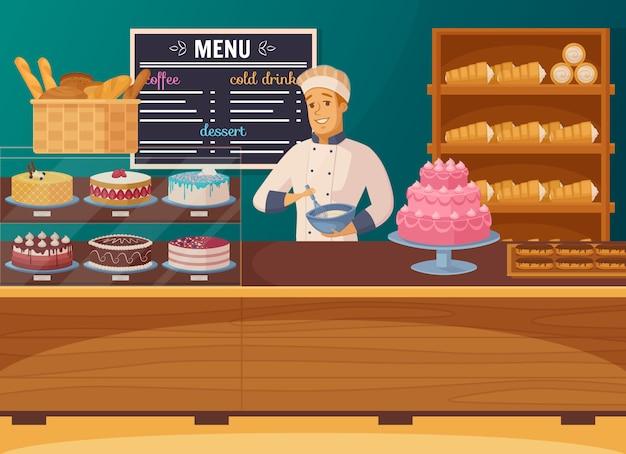 Süßwarenladen Kostenlosen Vektoren