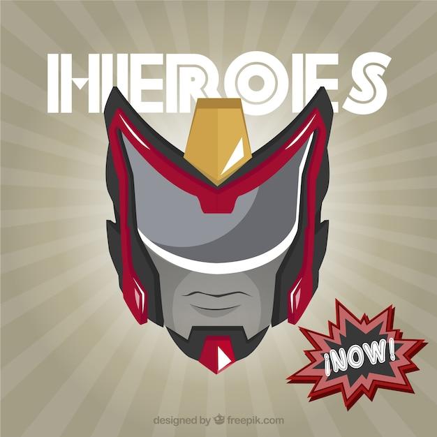 Superhelden Maske | Download der kostenlosen Vektor