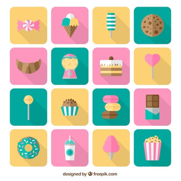 Süße Symbole